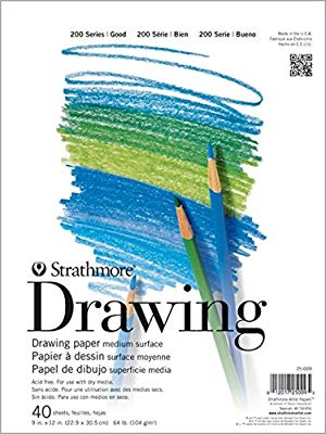 """Strathmore Student Watercolor Pad 9/""""x12/""""-15 Sheets"""
